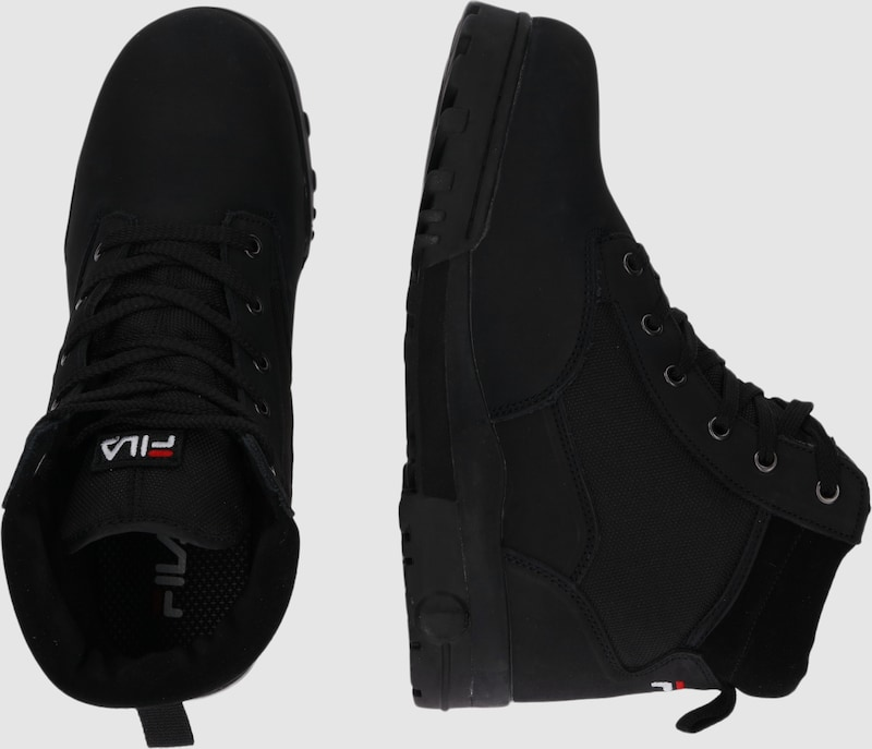 08850a50187 FILA Veterboots 'Grunge mid' in Zwart   ABOUT YOU