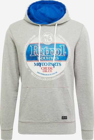 Petrol Industries Bluzka sportowa w kolorze niebieski / nakrapiany szary / czerwony / białym, Podgląd produktu