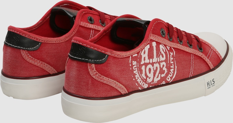 H.I.S Sneaker im Canvas-Look
