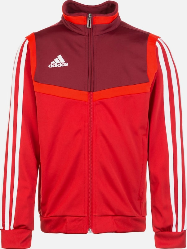 ADIDAS PERFORMANCE Trainingsjacke 'Tiro 19' in rot / weinrot, Produktansicht
