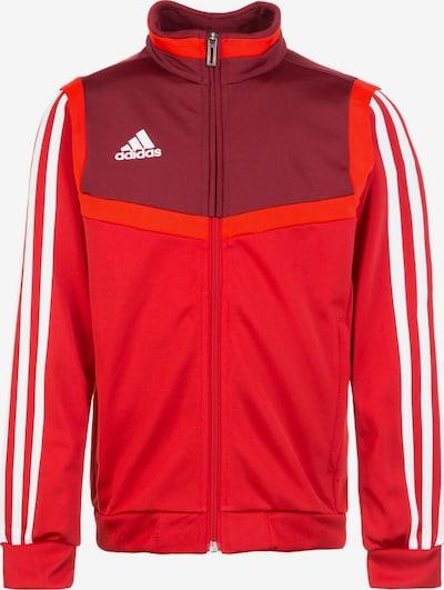 ADIDAS PERFORMANCE Trainingsjacke 'Tiro 19' in rot / weinrot, Produktansicht