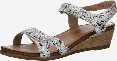 REMONTE Sandalen in schwarz / weiß, Produktansicht