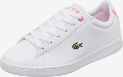 LACOSTE Sneakers 'Carnaby Evo' in rosé / weiß, Produktansicht