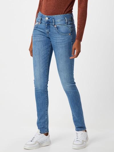 Herrlicher Jeans 'Pearl' in blue denim: Frontalansicht