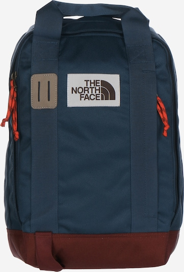 THE NORTH FACE Daypack 'Tote' in dunkelblau / burgunder, Produktansicht