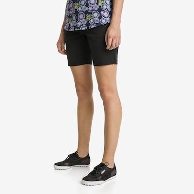 PUMA Workout Pants 'Pounce' in Black: Frontal view