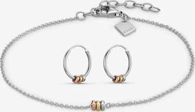QOOQI Set in gold / rosegold / silber, Produktansicht