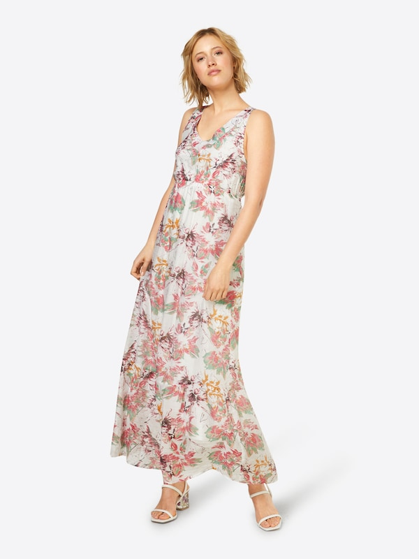 D'été Robe Dress' En Cream Rose 'aishya CrèmeMenthe WH2YED9I