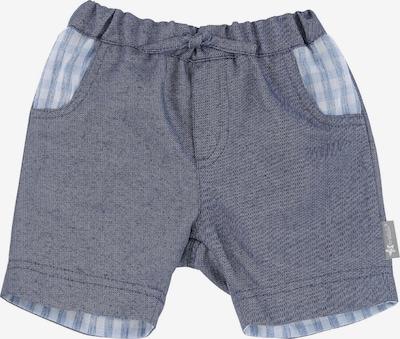 STERNTALER Shorts in rauchblau / blue denim / weiß, Produktansicht