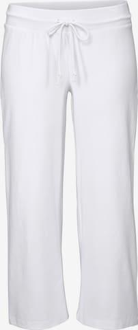 Pantalon BEACH TIME en blanc