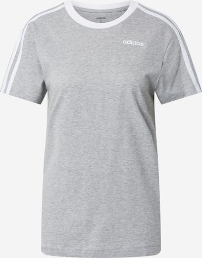ADIDAS PERFORMANCE Camiseta funcional en gris moteado / blanco, Vista del producto