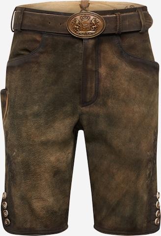 MARJO Rahvuslikud püksid 'Ferry', värv pruun