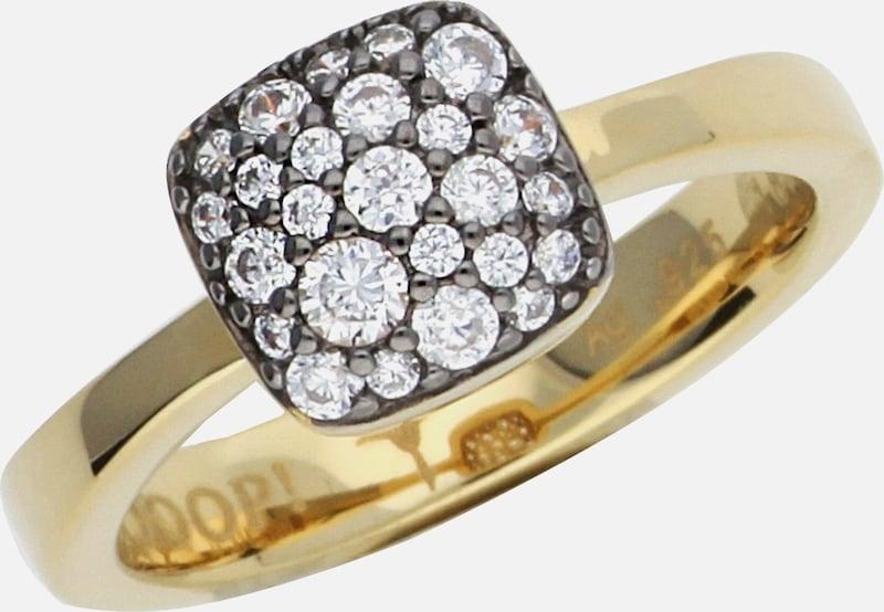 JOOP! Fingerring Pave mit Zirkonia-Steinbesatz JPRG90798E