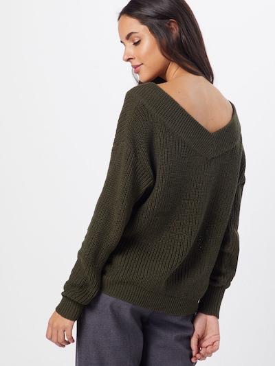 ONLY Sweter 'MELTON' w kolorze jodłam: Widok od tyłu