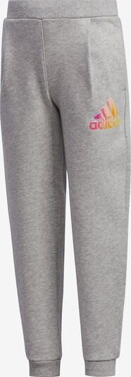 ADIDAS PERFORMANCE Jogginghose in graumeliert / mischfarben, Produktansicht