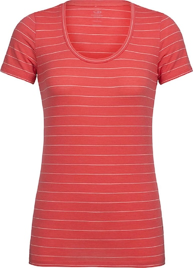 Icebreaker T-Shirt ' Tech Lite SS Scoop ' in orange, Produktansicht