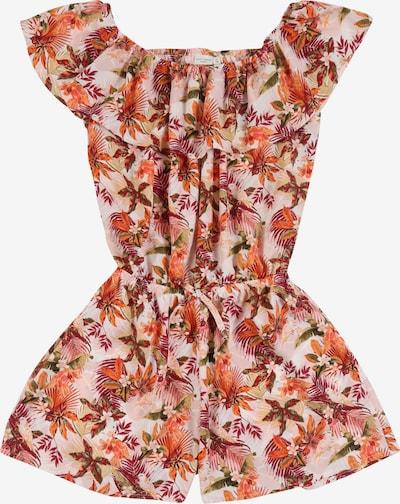NAME IT Jumpsuit 'Vinaya' in beige / orange / rosa / rot, Produktansicht