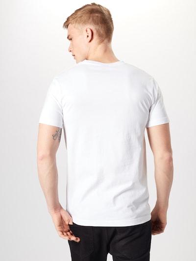 Mister Tee T-Shirt '2Pac F*ck The World' in schwarz / weiß: Rückansicht