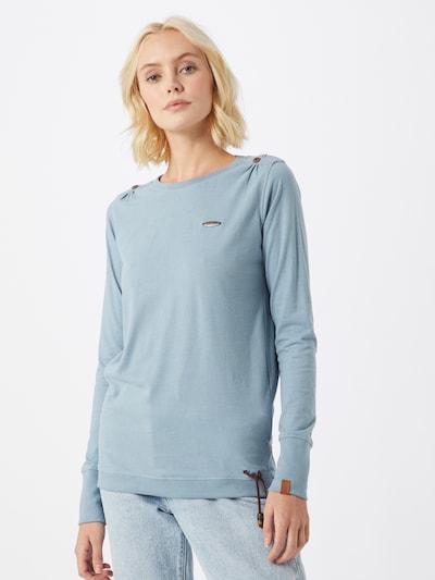 Alife and Kickin Shirt 'Lena' in de kleur Lichtblauw: Vooraanzicht