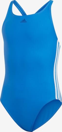 ADIDAS PERFORMANCE Badeanzug 'FIT SUIT 3S Y' in blau / weiß, Produktansicht