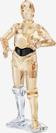 Swarovski Dekofigur 'Star Wars - C-3PO, 5473052' in gold / schwarz / transparent, Produktansicht