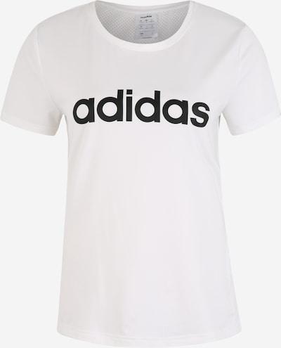 ADIDAS PERFORMANCE Camiseta funcional en negro / blanco, Vista del producto