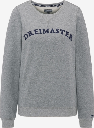 DREIMASTER Sweatshirt in grau, Produktansicht