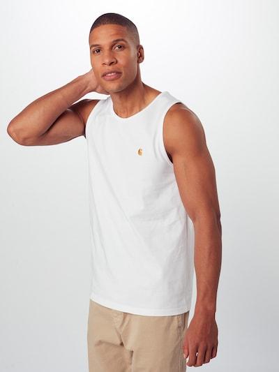 Tricou Carhartt WIP pe alb, Vizualizare model