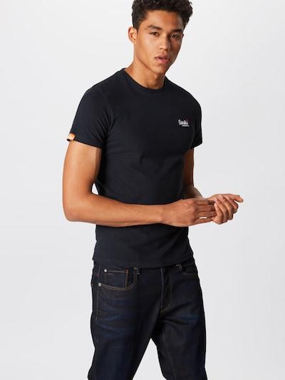 Superdry T-Shirt in kobaltblau: Frontalansicht