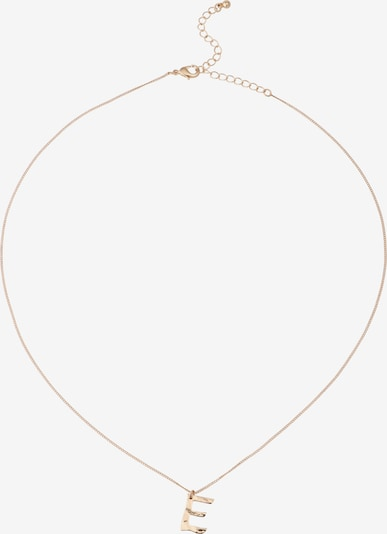 ABOUT YOU Ketting 'Letter E' in de kleur Goud, Productweergave