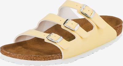 BIRKENSTOCK Pantolette 'Florida' in pastellgelb, Produktansicht