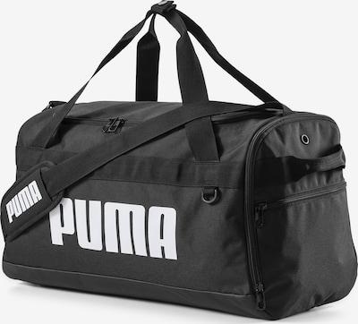 Sportinis krepšys iš PUMA , spalva - juoda / balta, Prekių apžvalga