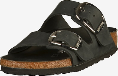 BIRKENSTOCK Pantoletter 'Arizona Big Buckle' i sort, Produktvisning