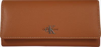 Calvin Klein Jeans Geldbörse 'MONO LONGFOLD' in braun, Produktansicht