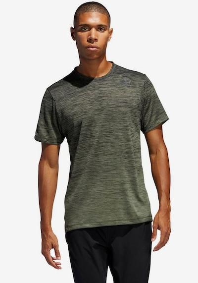 ADIDAS PERFORMANCE Shirt in khaki: Frontalansicht