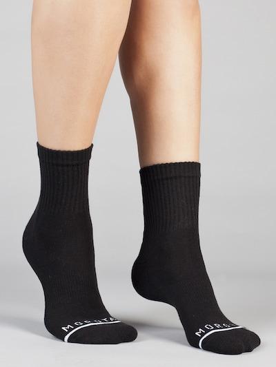 MOROTAI Sportsocken 'PREMIUM' in schwarz / weiß, Produktansicht
