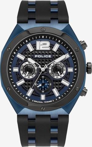 POLICE Analog Watch 'KEDIRI, PL15995JSBLU.03P' in Black
