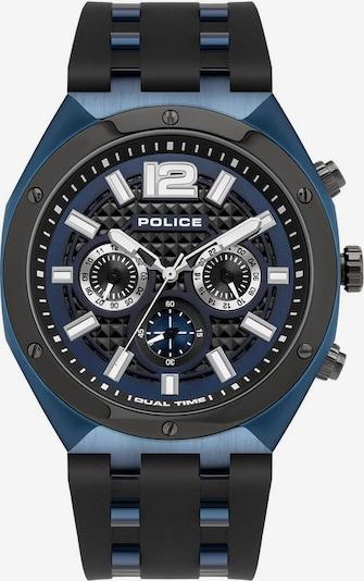 POLICE Multifunktionsuhr 'KEDIRI, PL15995JSBLU.03P' in schwarz, Produktansicht