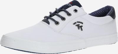 sötétkék / fehér TOM TAILOR Rövid szárú edzőcipők, Termék nézet
