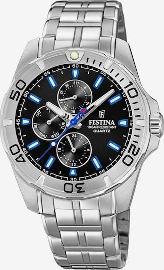 FESTINA Uhr 'F20445/6' in schwarz / silber, Produktansicht