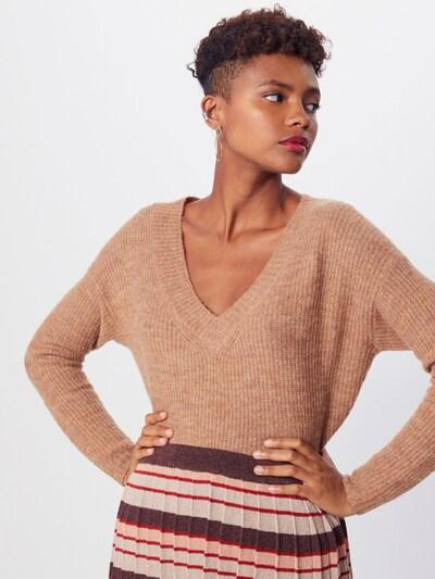 ONLY Sweter w kolorze brązowym: Widok z przodu