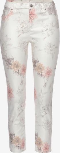 LASCANA Hose in greige / rosa / weiß, Produktansicht