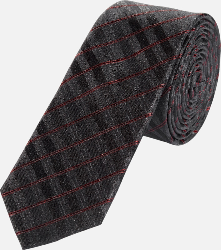 S.oliver Black Label Striped Silk Tie