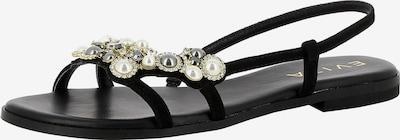 EVITA Sandale 'OLIMPIA' in schwarz, Produktansicht