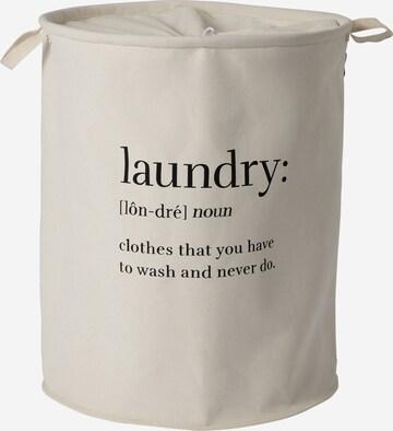 ABOUT YOU Kosz na pranie 'Comfy L' w kolorze beżowy