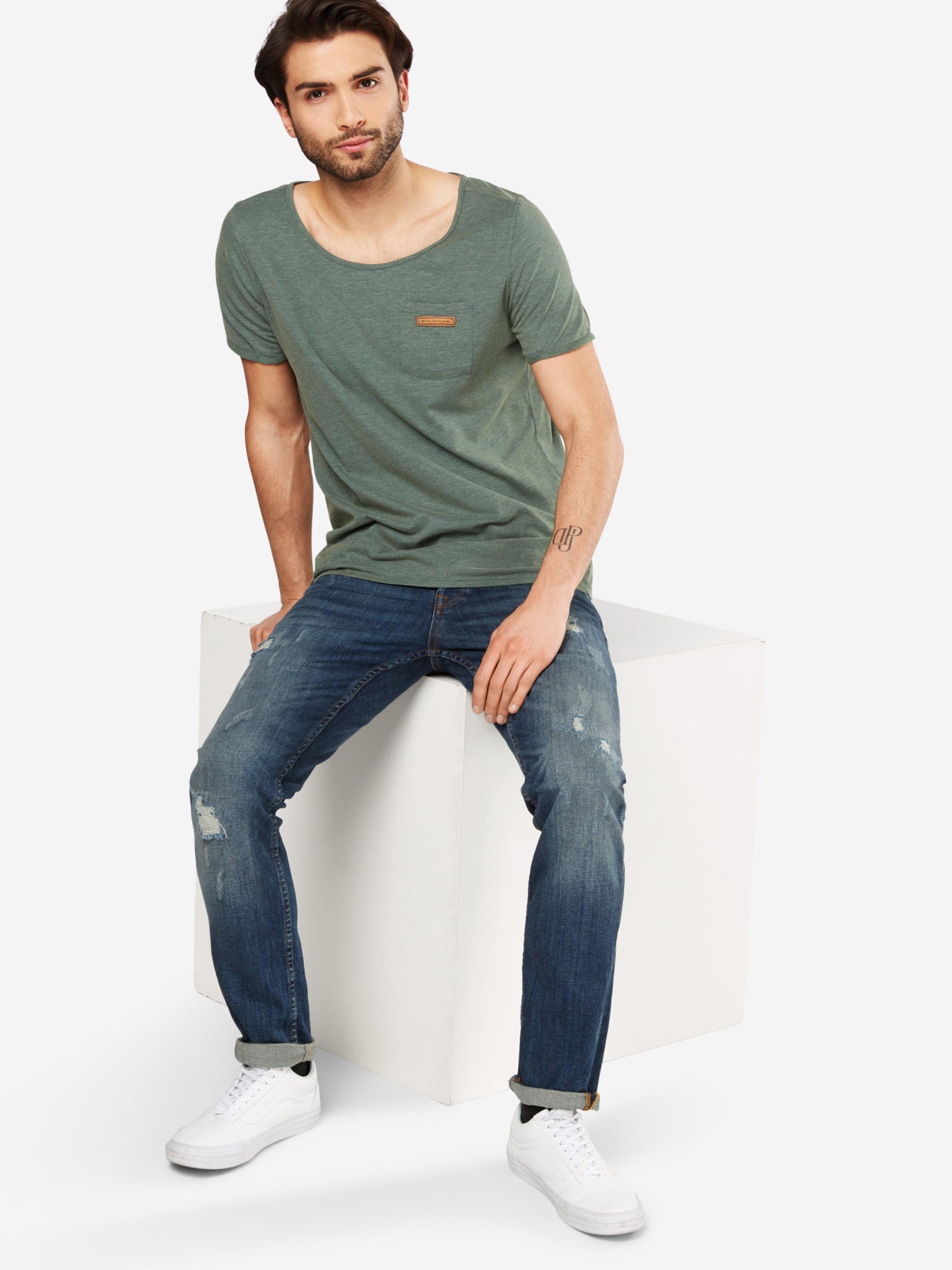 shirt 'fashionopfa Dunkelgrün Naketano T I' In tshrdQCx