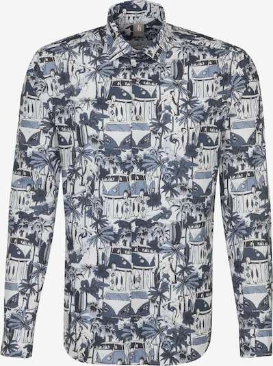Jacques Britt Hemd in blau / weiß, Produktansicht