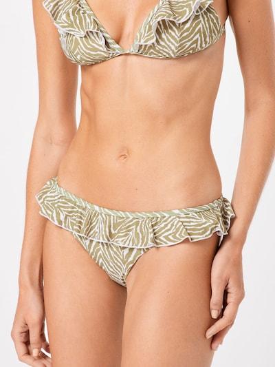 CATWALK JUNKIE Bikinihose 'SAFARI' in sand / weiß, Modelansicht