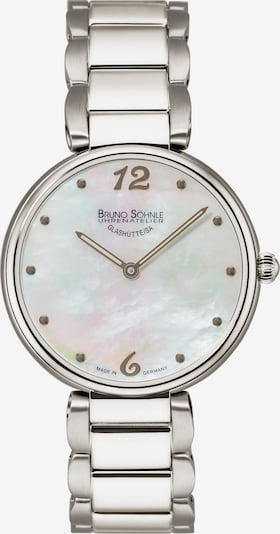 Bruno Söhnle Uhr 'Salerno' in silber, Produktansicht