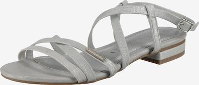 BRUNO BANANI Sandalen in silber, Produktansicht